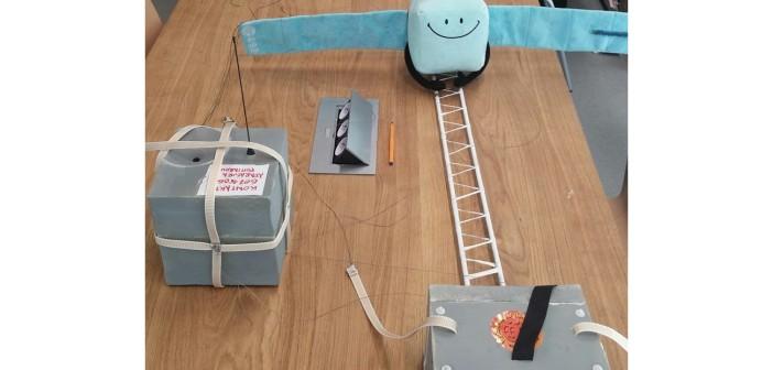 Dolna część sprzętu do misji RosettaStrato / Credits - Adam Piech, Kosmonauta.net, Blue Dot Solutions
