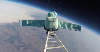 Publikacja nagrania z lotu RosettaStrato
