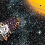 Artystyczna wizja teleskopu Keplera w przestrzeni kosmicznej / Credits - NASA