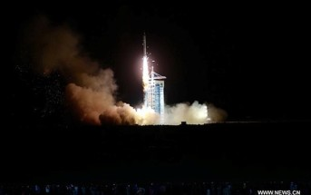 Start rakiety Długi Marsz 2D ze statkiem Shijian 10 / Źródło: Xinhua