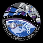 Logo misji Dragon CRS-8 / Credits - SpaceX