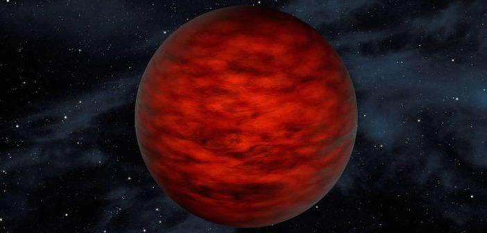 Artystyczna wizja WISEA 1147 / Credits - NASA/JPL Caltech