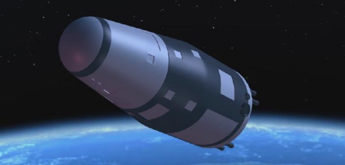 Wizualizacja statku kosmicznego Shijian-10 / CNSA