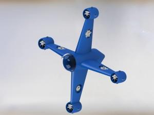 Wizualizacja robota podwodnego Tryton / Credits: SKA PW