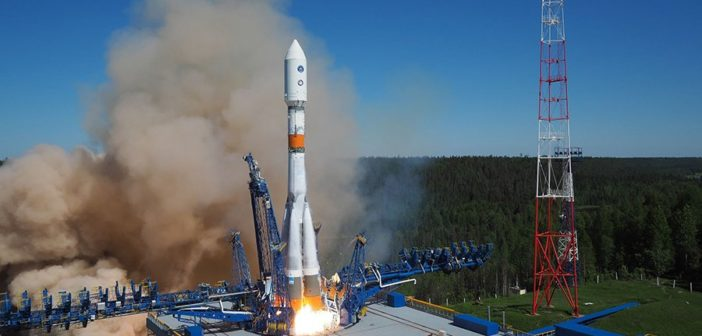 Start Sojuza-2.1b z satelitą GLONASS-M - 29.05.2016 / Credits - Ministry of Defence of the Russian Federation