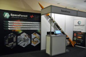 Rakieta Candle-2 zaprezentowana na konferencji MIKON 2016 / Credits - SpaceForest