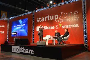 Prezentacja na Startup Stage / Źródło: BDS