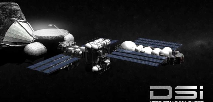Grafika przedstawiająca dalekosiężne plany Deep Space Industries / Credits: DSI