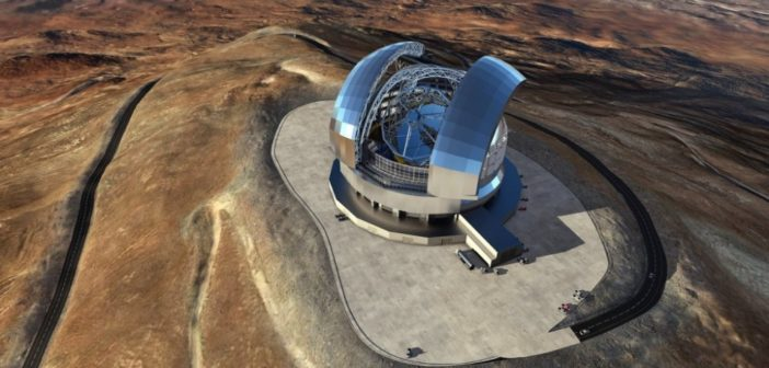 Teleskop E-ELT / Źródło: ESO/L. Calçada/ACe Consortium