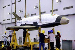 Demonstrator wahadłowca kosmicznego RLV-TD / Credits: ISRO