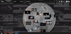 Nowa strona ESA o Księżycu / Credits: ESA