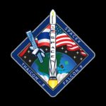 Logo startu satelity Thaicom-8 / Credits - SpaceX