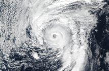 Zdjęcie huraganu Alex podczas szczytu aktywności w styczniu 2016 z satelity Suomi NPP / Credits - NOAA