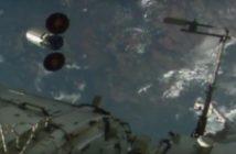 Cygnus opuszcza ISS / Credits - NASA TV