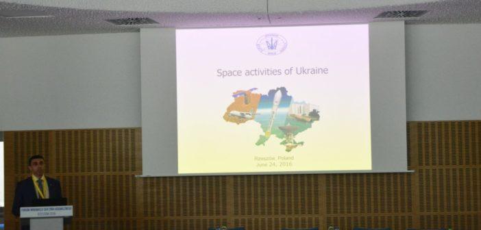 Prezentacja ukraińskiego sektora kosmicznego / Credits - Krzysztof Kanawka, Blue Dot Solutions