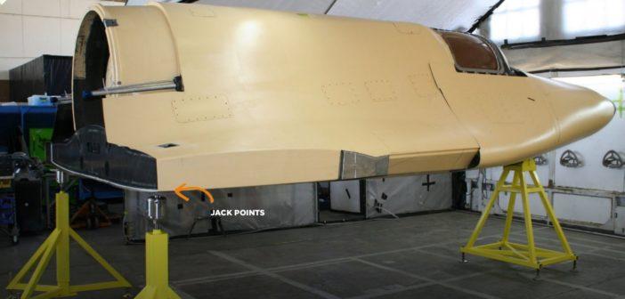 Kadłub pojazdu Lynx / Credits - XCOR Aerospace