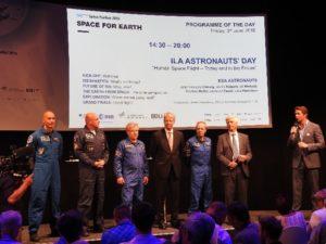 Spotkanie z astronautami podczas ILA 2016 w Berlinie / Credits: Agnieszka Kwiek