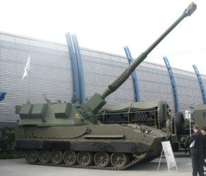 Armatohaubica Krab o kalibrze 155mm (nie ma pewności czy omawiana rakieta by była wystrzeliwana z tej haubicy) / Credits - Pibwl, CC BY-SA 3.0