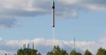 Start rakiety Rokot z satelitą GEO-IK 2 / Źródło: Rosyjskie Ministerstwo Obrony