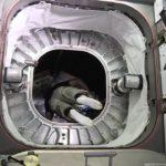 Jeff Williams w module BEAM - czerwiec 2016 / Credits: NASA