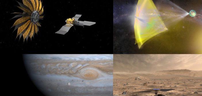 Cztery koncepcje technologiczne NASA - już wkrótce zaakceptowane do realizacji ? / Credits - NASA, Breakthrough Initatives