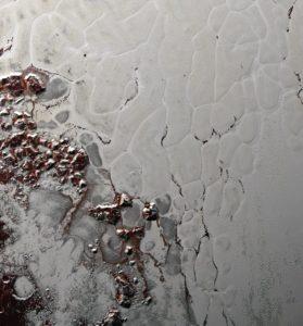 Poligony jasnej cześci Plutona / Credits - NASA/Johns Hopkins University Applied Physics Laboratory/Southwest Research Institute