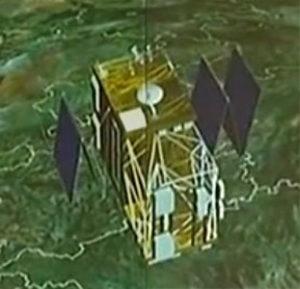 Wizualizacja satelity Shijian 16 / Credits: CNSA