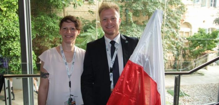 Dorota Filipowicz oraz Adam Szeszko - Polscy uczestnicy tegorocznego SSP na International Space University