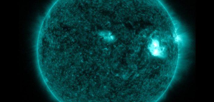 Faza końcowa drugiego z rozbłysków klasy M z 21 lipca 2016 / Credits - NASA, SDO