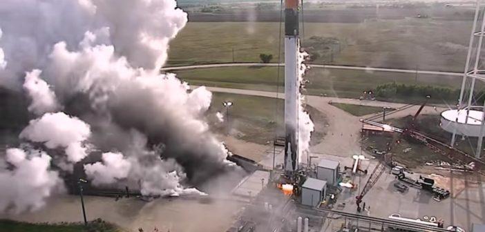 Test odzyskanego pierwszego stopnia Falcona 9R - 29.07.2016 / Credits - SpaceX