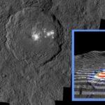 Jasne obszary na powierzchni Ceres / Źródło: NASA/JPL-Caltech/UCLA/MPS/DLR/IDA