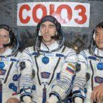 Załoga Sojuza MS-01 / Credits: NASA