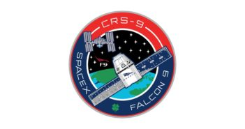 Patch misji CRS-9 / Credits: SpaceX