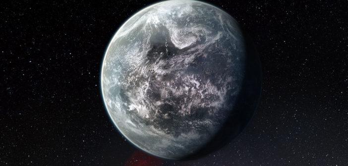 Artystyczna wizja dużej skalistej planety zdatnej do życia / Credits - ESO/M. Kornmesser