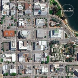 Oakland w Kalifornii / Credits - Digital Globe