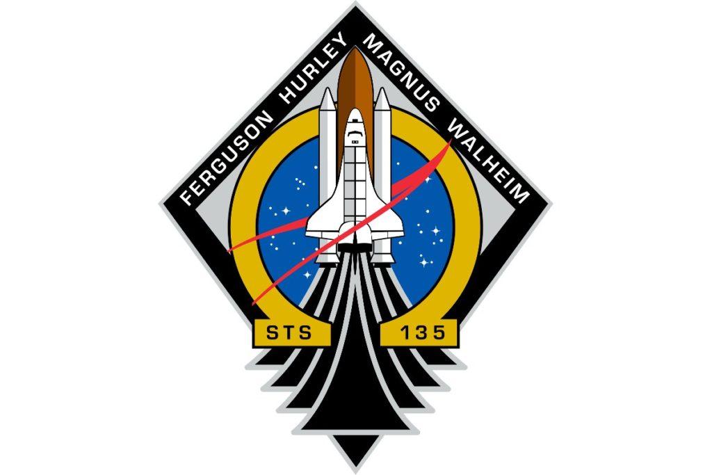 Logo misji STS-135 / Credits - NASA