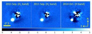 Obserwacje HII 3441B za pomocą teleskopu Subaru / Credits - Konishi et al., 2016.