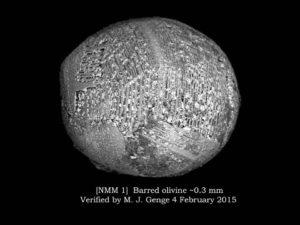 Pierwszy zidentyfikowany miejski mikrometeoryt / Credits - Project Stardust