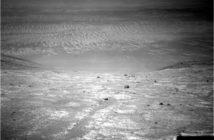 Zdjęcie z lewego obiektywu kamery nawigacyjnej Opportunity, sol 4444 / Credit: NASA-JPL