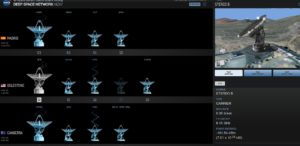 Komunikacja z sondą STEREO-B za pomocą jednej z anten DSN - 22 sierpnia 2016 / Credits - NASA