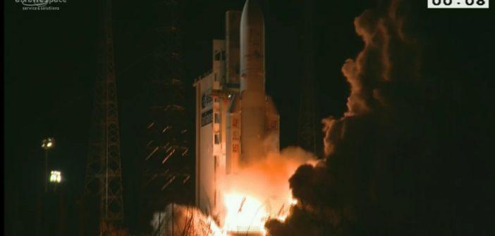 Start Ariane 5 z 25 sierpnia 2016 / Credits - Arianespace