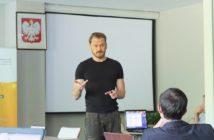 Zajęcia z pitchingu prowadził Piotr Bucki / Credits: Blue Dot Solutions