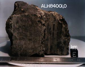 Meteoryt ALH84001 / Credits - NASA