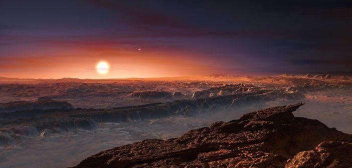 Skalista planeta krąży wokół Proximy Centauri!
