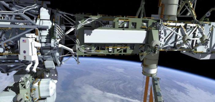 Scena z planowanych prac podczas EVA-37 / Credits - NASA TV