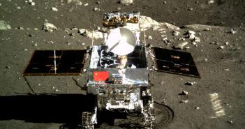 Yutu na powierzchni Księżyca / Credit: CNSA