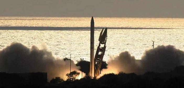 Start Ofeq-11 / Credits - Izraelskie Ministerstwo Obrony