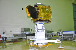 ScatSat-1 / Credit: ISRO