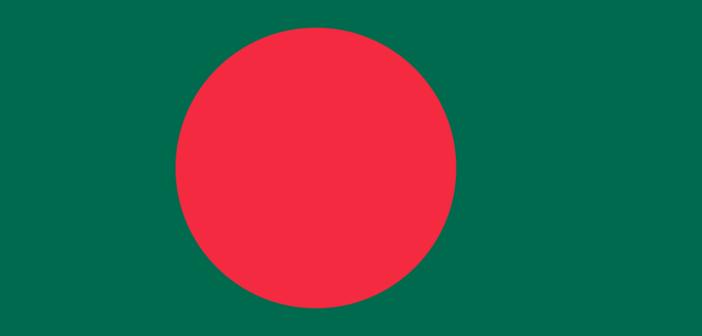 Flaga Ludowej Republiki Bangladeszu