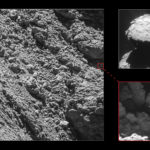 Philae na zdjęciach z kamery Osiris sondy Rosetta, 2 września 2016 / Credit: ESA/Rosetta/MPS for OSIRIS Team MPS/UPD/LAM/IAA/SSO/INTA/UPM/DASP/IDA; context: ESA/Rosetta/NavCam – CC BY-SA IGO 3.0